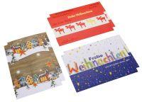 »Frohe Weihnacht« Grußkarten