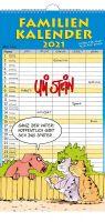 Uli Stein Familienkalender 2021