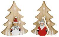 Tannen 'Santa und Schneemann'