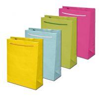 4 farbige Geschenkbeutel
