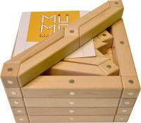 Magnetischer Holzbaukasten