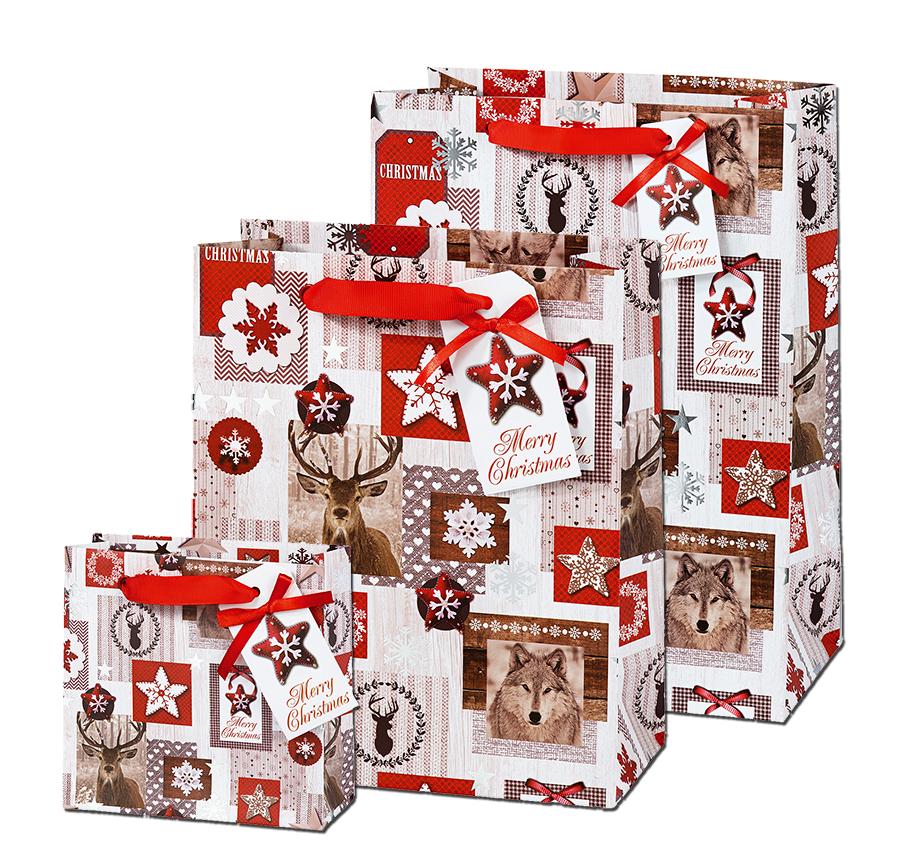 3er set arctic taschen weihnachten schenken shop. Black Bedroom Furniture Sets. Home Design Ideas